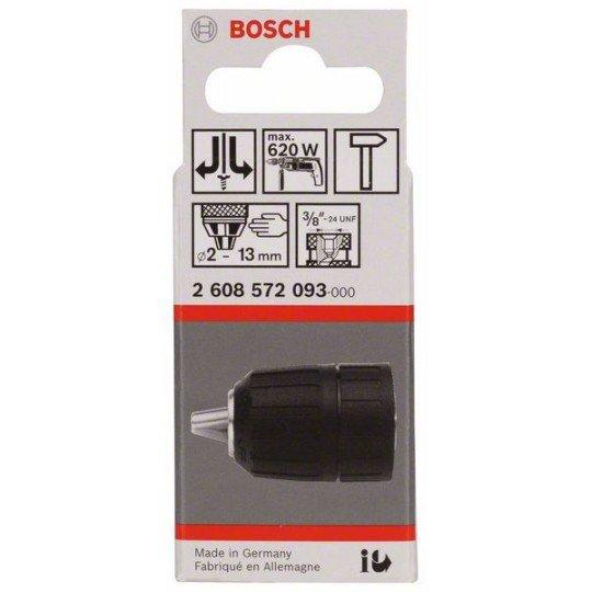 """Bosch Gyorsbefogó fúrótokmány, 13 mm-ig 1,5-13 mm, 3/8"""" - 24"""
