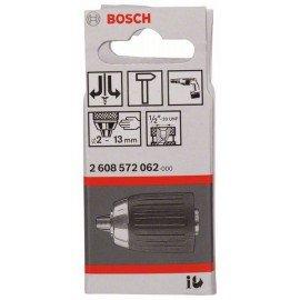"""Bosch Gyorsbefogó fúrótokmány, 13 mm-ig 2-13 mm, 1/2"""" - 20"""