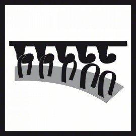 Bosch Habanyag korong, extra puha (fekete), Ø 170 mm Extra lágy