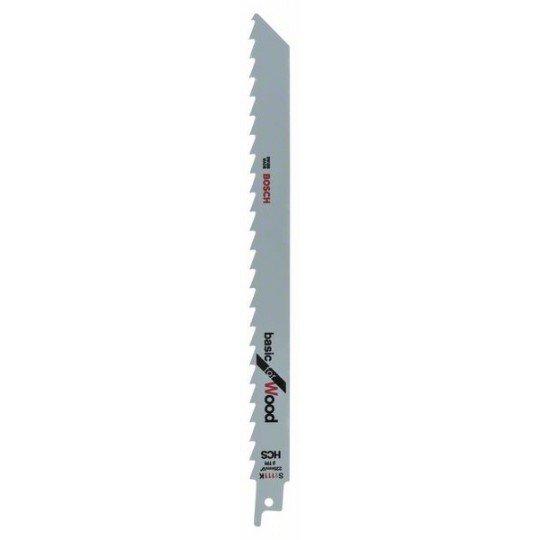 Bosch HCS szablyafűrészlap, S 1111 K Basic for Wood