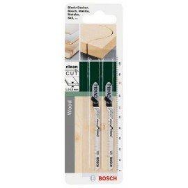 Bosch HCS szúrófűrészlap, T 101 AO Clean for Wood