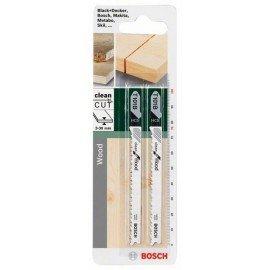 Bosch HCS szúrófűrészlap, T 101 B Clean for Wood