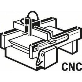 Bosch Homorulatmaró 8 mm, R1 3 mm, D 6 mm, L 12,7 mm, G 50,8 mm