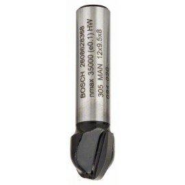 Bosch Homorulatmarók 8 mm, R1 6 mm, D 12 mm, L 9,2 mm, G 40 mm