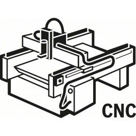 Bosch Horonymaró, tömör keményfém 8 mm, D1 4 mm, L 15,8 mm, G 50,7 mm