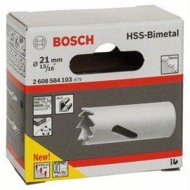 """Bosch HSS-bimetál körkivágó standard adapterekhez 21 mm, 13/16"""""""