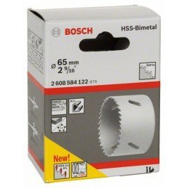 """Bosch HSS-bimetál körkivágó standard adapterekhez 65 mm, 2 9/16"""""""