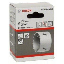 """Bosch HSS-bimetál körkivágó standard adapterekhez 70 mm, 2 3/4"""""""