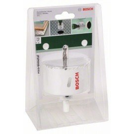 Bosch HSS-bimetál lyukfűrész Átmérő = 73 mm