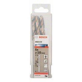 Bosch HSS-Co fémfúró, DIN 338 10 x 87 x 133 mm
