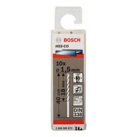 Bosch HSS-Co fémfúró, DIN 338 1,5 x 18 x 40 mm