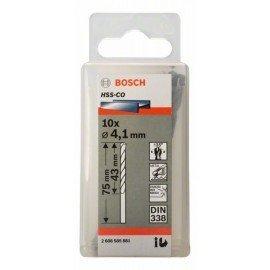 Bosch HSS-Co fémfúró, DIN 338 4,1 x 43 x 75 mm