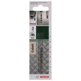 Bosch HSS-Co fémfúró, DIN 338 D= 2,0 mm; L= 49 mm