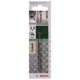 Bosch HSS-Co fémfúró, DIN 338 D= 2,5 mm; L= 57 mm