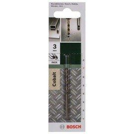 Bosch HSS-Co fémfúró, DIN 338 D= 3,0 mm; L= 61 mm
