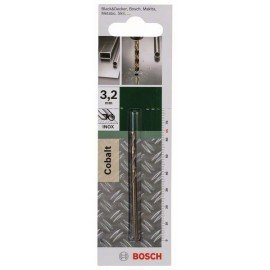 Bosch HSS-Co fémfúró, DIN 338 D= 3,2 mm; L= 65 mm