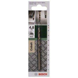 Bosch HSS-Co fémfúró, DIN 338 D= 4,8 mm; L= 86 mm