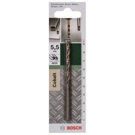 Bosch HSS-Co fémfúró, DIN 338 D= 5,5 mm; L= 93 mm