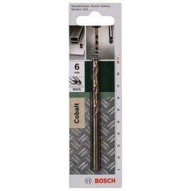 Bosch HSS-Co fémfúró, DIN 338 D= 6,0 mm; L= 93 mm