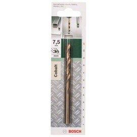 Bosch HSS-Co fémfúró, DIN 338 D= 7,5 mm; L= 109 mm