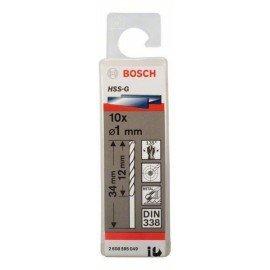 Bosch HSS-G fémfúró, DIN 338 1 x 12 x 34 mm