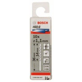 Bosch HSS-G fémfúró, DIN 338 1,1 x 14 x 36 mm
