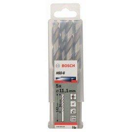 Bosch HSS-G fémfúró, DIN 338 11,1 x 94 x 142 mm