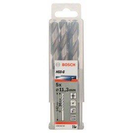 Bosch HSS-G fémfúró, DIN 338 11,3 x 94 x 142 mm
