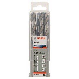 Bosch HSS-G fémfúró, DIN 338 11,4 x 94 x 142 mm