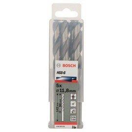 Bosch HSS-G fémfúró, DIN 338 11,8 x 101 x 151 mm