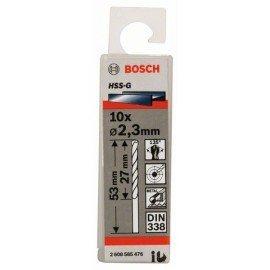 Bosch HSS-G fémfúró, DIN 338 2,3 x 27 x 53 mm