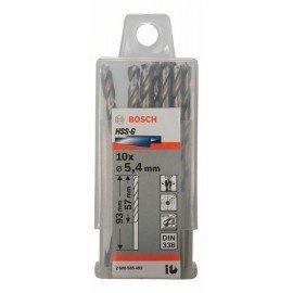 Bosch HSS-G fémfúró, DIN 338 5,4 x 57 x 93 mm
