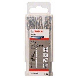 Bosch HSS-G fémfúró, DIN 338 5,6 x 57 x 93 mm
