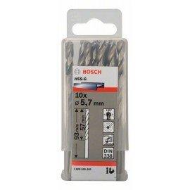 Bosch HSS-G fémfúró, DIN 338 5,7 x 57 x 93 mm