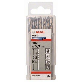Bosch HSS-G fémfúró, DIN 338 5,9 x 57 x 93 mm