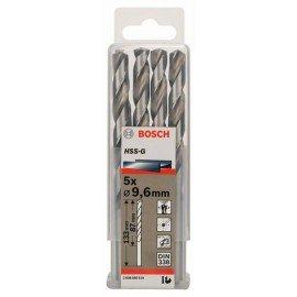 Bosch HSS-G fémfúró, DIN 338 9,6 x 87 x 133 mm