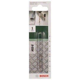Bosch HSS-G fémfúró, DIN 338 D= 1,0 mm; L= 34 mm