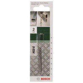 Bosch HSS-G fémfúró, DIN 338 D= 2,0 mm; L= 49 mm