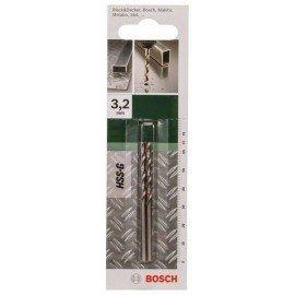 Bosch HSS-G fémfúró, DIN 338 D= 3,2 mm; L= 65 mm