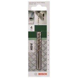 Bosch HSS-G fémfúró, DIN 338 D= 4,0 mm; L= 75 mm