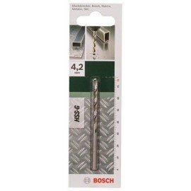 Bosch HSS-G fémfúró, DIN 338 D= 4,2 mm; L= 75 mm