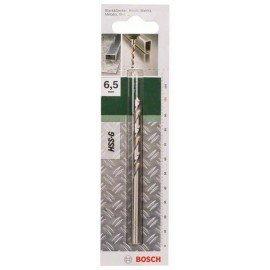 Bosch HSS-G fémfúró, DIN 338 D= 6,5 mm; L= 101 mm
