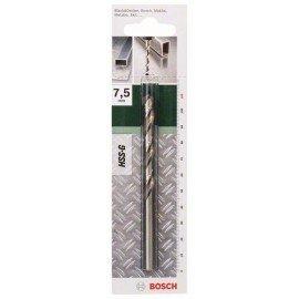 Bosch HSS-G fémfúró, DIN 338 D= 7,5 mm; L= 109 mm
