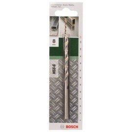 Bosch HSS-G fémfúró, DIN 338 D= 8,0 mm; L= 117 mm