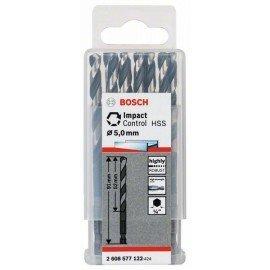 Bosch HSS hatszögszárú spirálfúró, 5,0 mm (10 db) 5 x 52 x 91 mm