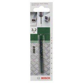 Bosch HSS-R fémfúró, DIN 338 D= 3,2 mm; L= 65 mm