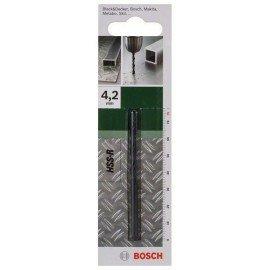 Bosch HSS-R fémfúró, DIN 338 D= 4,2 mm; L= 75 mm