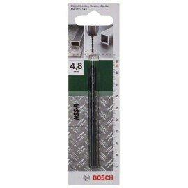 Bosch HSS-R fémfúró, DIN 338 D= 4,8 mm; L= 86 mm