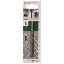 Bosch HSS-R fémfúró, DIN 338 D= 5,0 mm; L= 86 mm