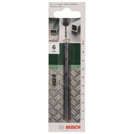 Bosch HSS-R fémfúró, DIN 338 D= 6,0 mm; L= 93 mm
